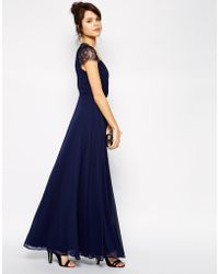 Asos Kate Lace Maxi Dress - Lyst