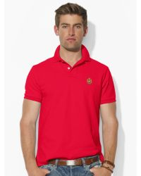 Polo Ralph Lauren Custom-fit Heritage Crest Polo - Lyst