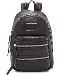 Marc By Marc Jacobs - Domo Biker Backpack - Cement - Lyst