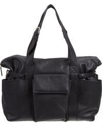 Barneys New York | Leather Diaper Bag | Lyst