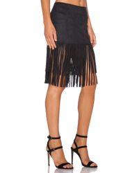 Wyldr Shimmy Shake Skirt - Black