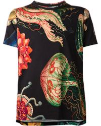 Vivienne Westwood Anglomania Sea Creatures Tshirt - Lyst