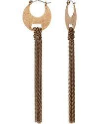 Banana Republic Fringe Tassel Earring - Lyst