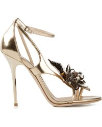 Jimmy Choo 'Mantle' Sandals - Metallic