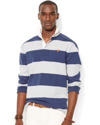 Polo Ralph Lauren Striped Rugby Shirt - Lyst