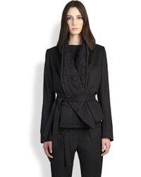 Ann Demeulemeester Shawl Collar Jacket - Lyst