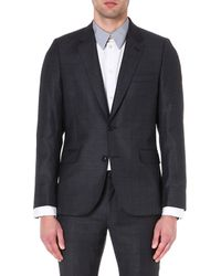 Paul Smith Prince Of Wales Checked Wool Jacket - Lyst