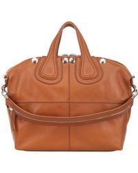 Givenchy Medium Nightingale Studded Leather Bag - Lyst