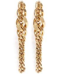 Ela Stone - Editha Graduated Chain Earrings - Lyst