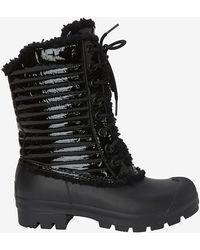 Hunter Original Patent Snow Boot: Black - Lyst