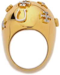Tory Burch Luck Bubble Ring  - Lyst