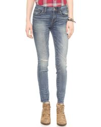 Madewell Skinny Jeans Nash Wash - Lyst