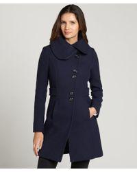 SOIA & KYO - Wool Blend Aly Coat - Lyst