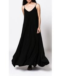 Groceries Quinn Maxi Dress black - Lyst