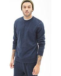 21men Classic Crew Neck Sweatshirt - Lyst