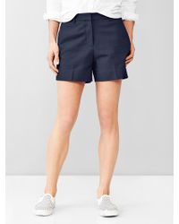 Gap Tailored Shorts - Lyst