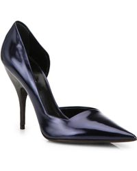 Narciso Rodriguez - Carolyn Leather D'Orsay Pumps - Lyst
