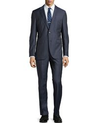 Hugo Boss James Pin Check Suit - Lyst