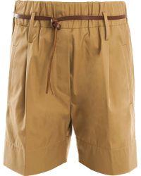Forte Forte Poplin Shorts - Lyst