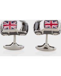 Paul Smith | Men's Union Jack 3d Mini Car Cufflinks | Lyst