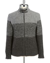 Guess Ombre Knit Cardigan - Lyst