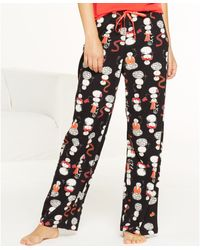 Hue Smiley Snowman Pajama Pants - Lyst