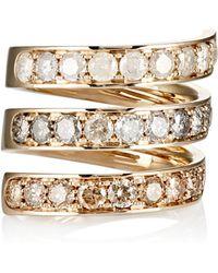 Roberto Marroni - Mixed-diamond Spiral Ring - Lyst