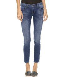Siwy Hannah Slim Crop Jeans - Lyst