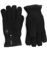 G-star Raw Original Black Gloves - Lyst
