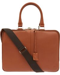 Want Les Essentiels De La Vie - Tan Trudeau 14 Leather Computer Bag - Lyst
