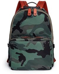 Valentino 'Camupsychedelic' Print Nylon Backpack - Lyst