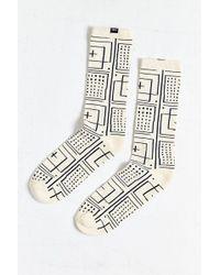 Obey - Riviera Jacquard Sock - Lyst