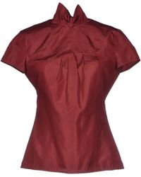 Costume National Blouse - Lyst