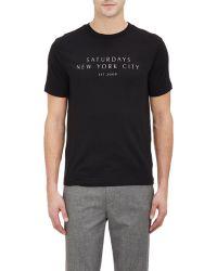 Saturdays Surf NYC Saturdays New York City Graphic T-Shirt - Lyst