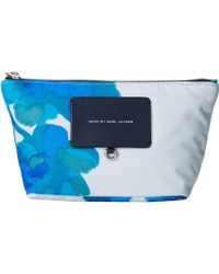 Marc By Marc Jacobs Preppy Legend Painted Defaced Floral Cosmetic Perfect Pouch - Lyst