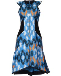 Bibhu Mohapatra Mid-Length Dress - Lyst