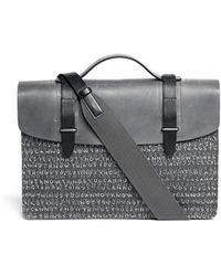 Seventy Eight Percent - X Julia Chiang Dimitri Text Print Medium Satchel - Lyst