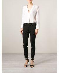 Versus  Skinny Jeans - Lyst