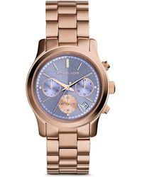 Michael Kors Runway Watch, 38Mm - Lyst