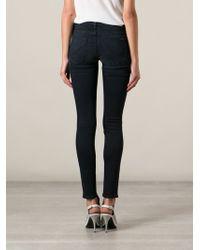 Hudson Blue Skinny Jeans - Lyst
