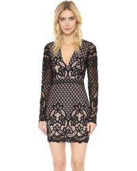 StyleStalker Lani Long Sleeve Dress - Black