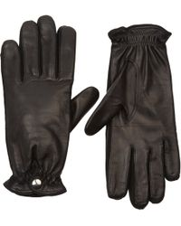 Barneys New York | Cashmere-lined Leather Gloves | Lyst