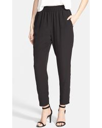 Lush - 'perfect' Woven Pants - Lyst