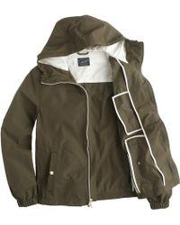 J.Crew X150 Cotton-Nylon Hooded Jacket - Lyst