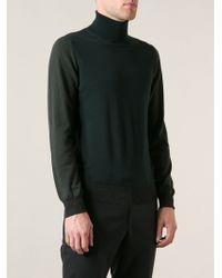 Lanvin Turtle Neck Sweater - Lyst