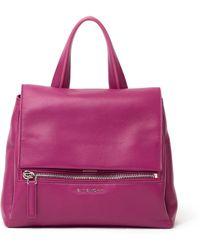 Givenchy Pandora Leather Satchel - Lyst