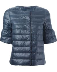 Herno Bell Sleeve Quilted Jacket - Lyst