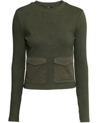 H&M Top With Pockets - Lyst