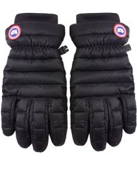 Canada Goose' down glove for black