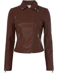 Linea Weekend Biker Jacket - Lyst